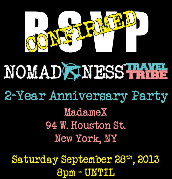 Nomadness Anniversary Party